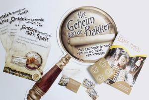 POS materiaal <br> &#8220;Het geheim van de bakker&#8221;
