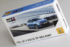 Verpakking <br> &#8220;Elf/Renault&#8221;