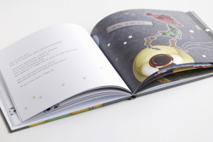 Prentenboek de planeet van Jaz <br> &#8220;Anjo Vrieling&#8221;