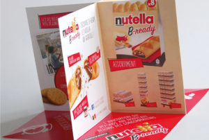 Pop Up Brochure <BR>&#8220;Nutella&#8221;