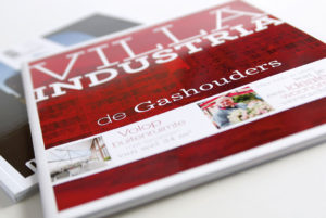 Brochure softcover <BR>&#8220;De Gasthouders&#8221;