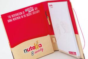 Presentatiemap <BR>&#8220;Nutella&#8221;
